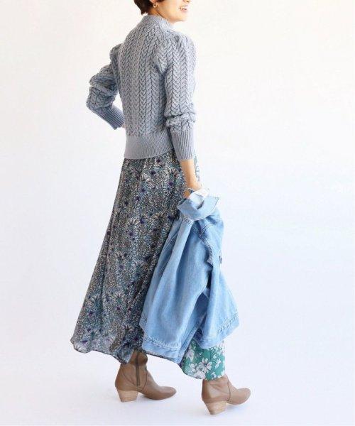 IENA(イエナ)/Deveaux  フラワープリントスカート◆/19060900599010_img35