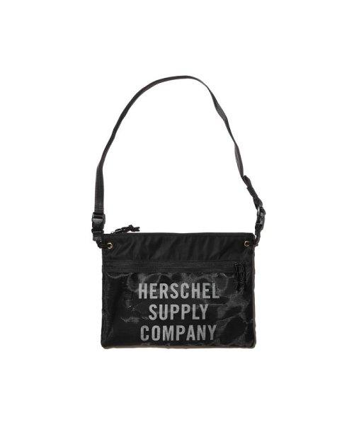 hershel supply(Herschel Supply )/Herschel Supply Co. × Kinetics Alder EX Mesh  Black/Black Mesh 18SS-I/10561-02475-os_img02