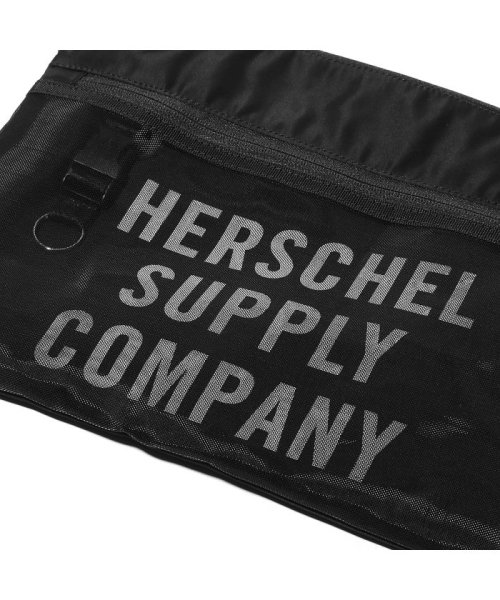 hershel supply(Herschel Supply )/Herschel Supply Co. × Kinetics Alder EX Mesh  Black/Black Mesh 18SS-I/10561-02475-os_img03