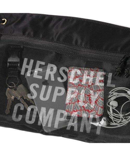 hershel supply(Herschel Supply )/Herschel Supply Co. × Kinetics Alder EX Mesh  Black/Black Mesh 18SS-I/10561-02475-os_img04