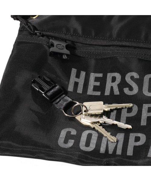 hershel supply(Herschel Supply )/Herschel Supply Co. × Kinetics Alder EX Mesh  Black/Black Mesh 18SS-I/10561-02475-os_img05