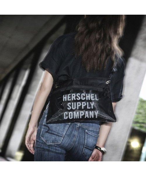 hershel supply(Herschel Supply )/Herschel Supply Co. × Kinetics Alder EX Mesh  Black/Black Mesh 18SS-I/10561-02475-os_img09