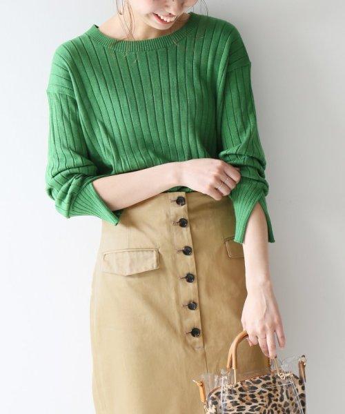 Spick & Span(スピック&スパン)/フロントボタンタイトスカート◆/19060200501010_img20