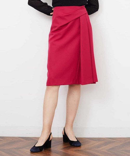 Tara Jarmon(タラ ジャーモン)/ドレープスカート IMPORTED/VZHCG08360_img02