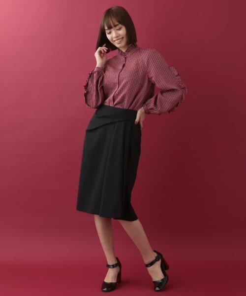 Tara Jarmon(タラ ジャーモン)/ドレープスカート IMPORTED/VZHCG08360_img05