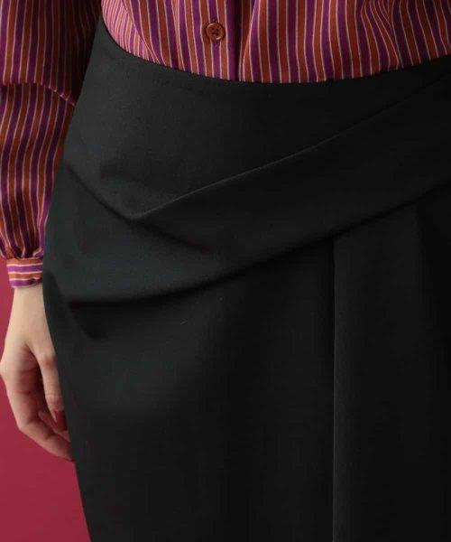 Tara Jarmon(タラ ジャーモン)/ドレープスカート IMPORTED/VZHCG08360_img08