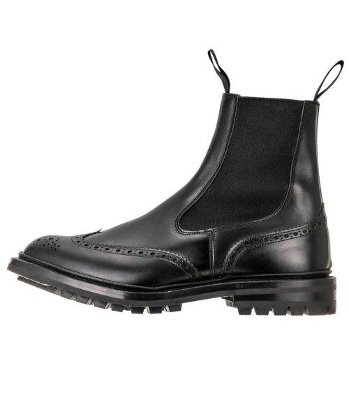 Tricker's(トリッカーズ)/TRICKERS ヘンリー コマンドソール HENRY BLACK CALF COMMANDO SOLE 5 FIT 日本サイズ:25.0cm/2754_img01