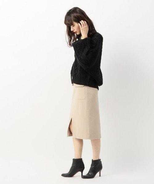 Spick & Span(スピック&スパン)/ウールカシミヤWポケットタイトスカート◆/18060200596040_img04