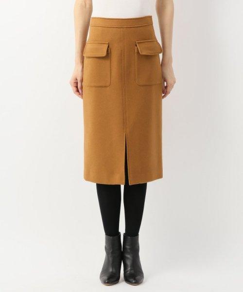 Spick & Span(スピック&スパン)/ウールカシミヤWポケットタイトスカート◆/18060200596040_img06