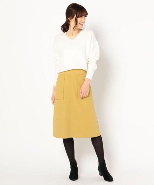 fredy emue(フレディエミュ)/ポケット付きスカート/8-0021-6-26-020_img11