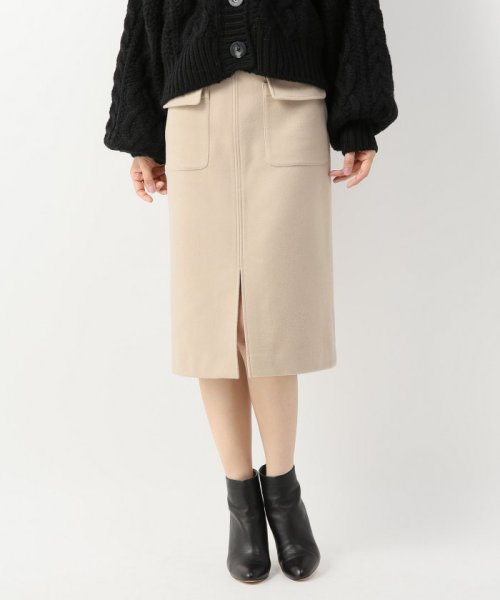 Spick & Span(スピック&スパン)/ウールカシミヤWポケットタイトスカート◆/18060200596040_img18