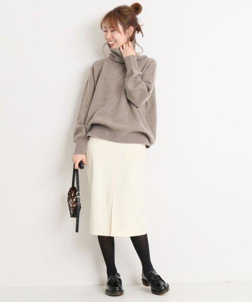 Spick & Span(スピック&スパン)/ウールカシミヤWポケットタイトスカート◆/18060200596040_img19