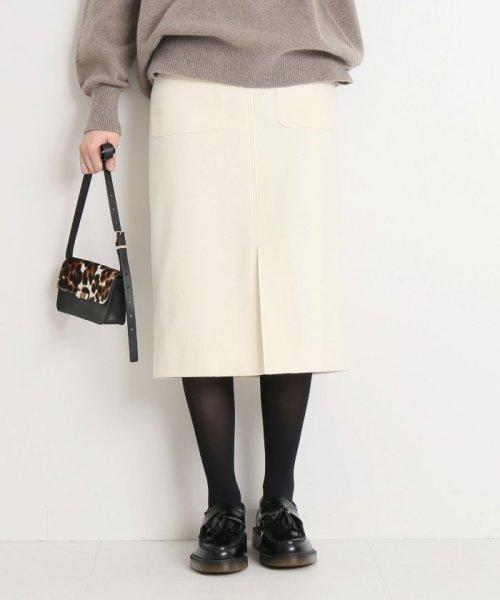 Spick & Span(スピック&スパン)/ウールカシミヤWポケットタイトスカート◆/18060200596040_img20