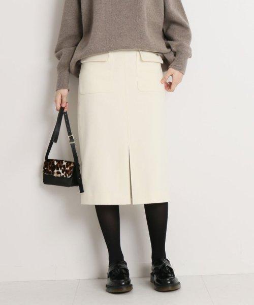 Spick & Span(スピック&スパン)/ウールカシミヤWポケットタイトスカート◆/18060200596040_img21