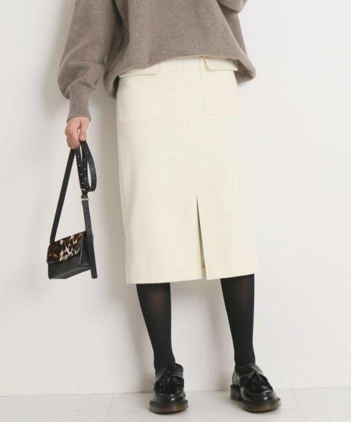 Spick & Span(スピック&スパン)/ウールカシミヤWポケットタイトスカート◆/18060200596040_img22