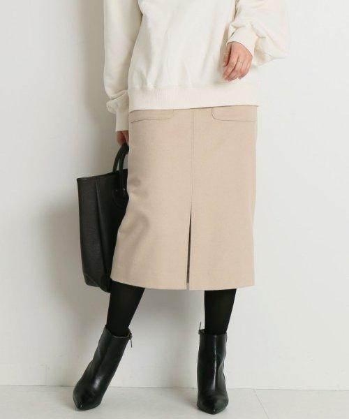 Spick & Span(スピック&スパン)/ウールカシミヤWポケットタイトスカート◆/18060200596040_img26
