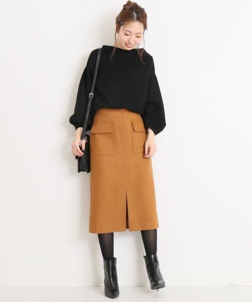Spick & Span(スピック&スパン)/ウールカシミヤWポケットタイトスカート◆/18060200596040_img30