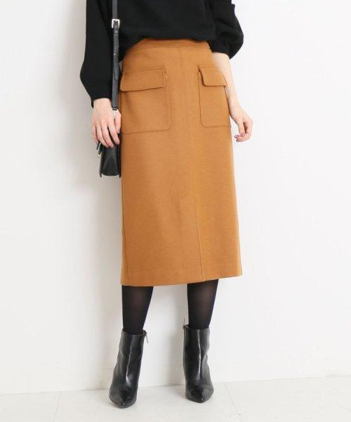 Spick & Span(スピック&スパン)/ウールカシミヤWポケットタイトスカート◆/18060200596040_img31