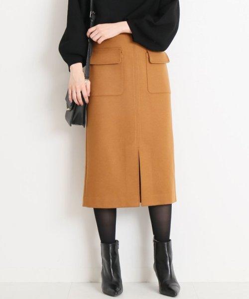 Spick & Span(スピック&スパン)/ウールカシミヤWポケットタイトスカート◆/18060200596040_img32
