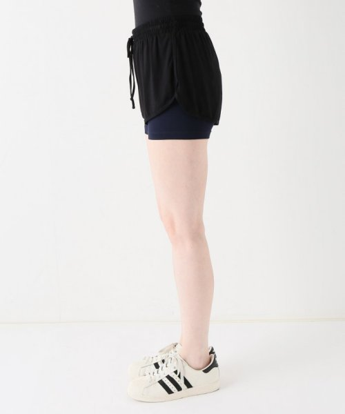 journal standard  L'essage (ジャーナルスタンダード レサージュ)/【ABOUT】 WOMAN DOUBLE LAYER SHORTS/18070380005110_img02