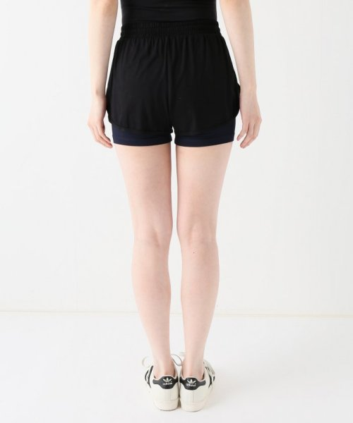 journal standard  L'essage (ジャーナルスタンダード レサージュ)/【ABOUT】 WOMAN DOUBLE LAYER SHORTS/18070380005110_img03