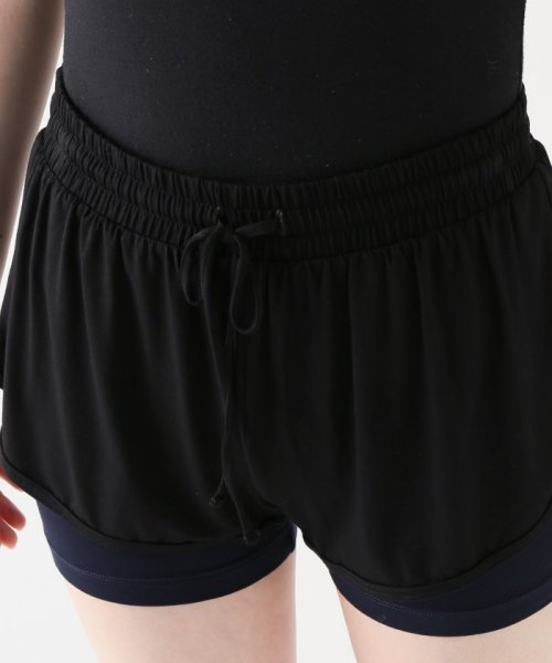 journal standard  L'essage (ジャーナルスタンダード レサージュ)/【ABOUT】 WOMAN DOUBLE LAYER SHORTS/18070380005110_img04