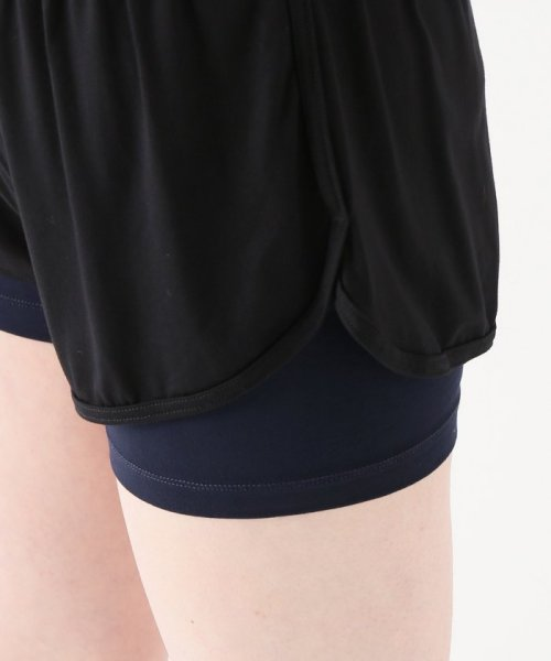 journal standard  L'essage (ジャーナルスタンダード レサージュ)/【ABOUT】 WOMAN DOUBLE LAYER SHORTS/18070380005110_img06