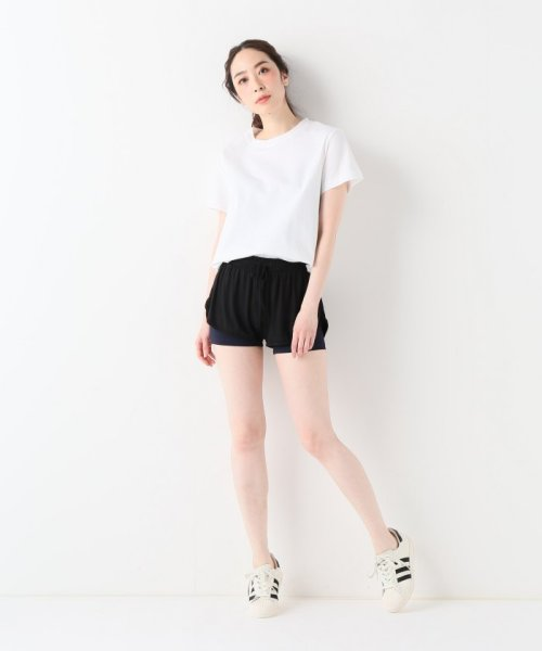 journal standard  L'essage (ジャーナルスタンダード レサージュ)/【ABOUT】 WOMAN DOUBLE LAYER SHORTS/18070380005110_img10
