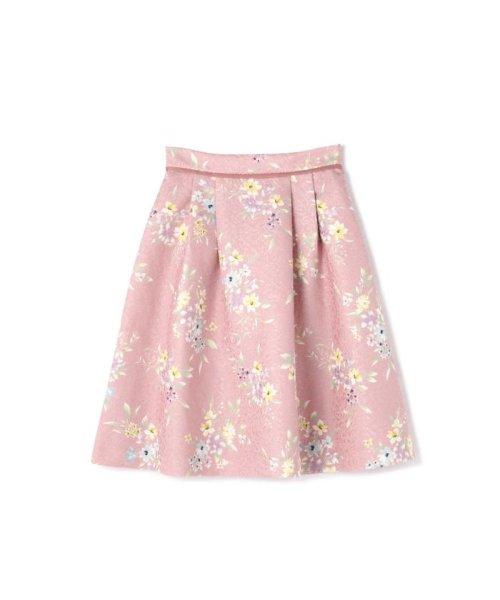 PROPORTION BODY DRESSING(プロポーション ボディドレッシング)/フラワータックジャガードスカート/1219120008_img10