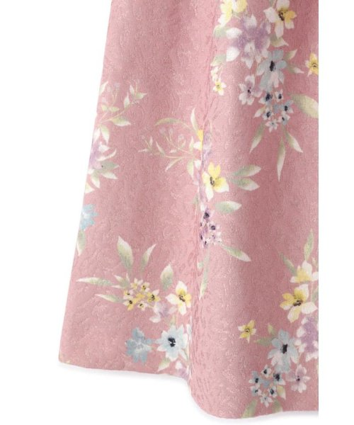 PROPORTION BODY DRESSING(プロポーション ボディドレッシング)/フラワータックジャガードスカート/1219120008_img14
