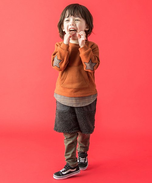 petit main(プティマイン)/レギ付ボアパンツ/9584114_img01