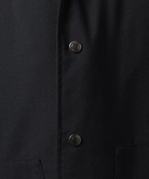 SHIPS MEN(シップス メン)/LAVENHAM: SHIPS完全別注モデル【ASSHINGTON】トロピカル スプリングコート(ネイビー)/114170009_img11