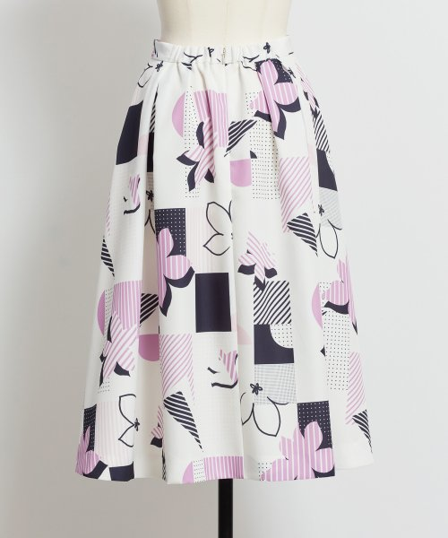 Noela(ノエラ)/オリジナル幾何柄スカート /5922015_img10