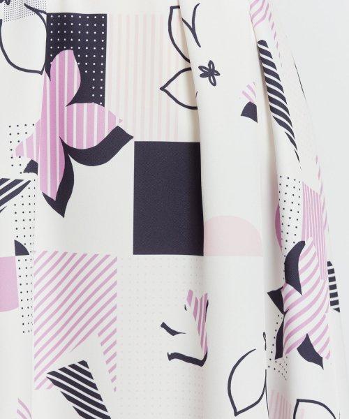 Noela(ノエラ)/オリジナル幾何柄スカート /5922015_img11