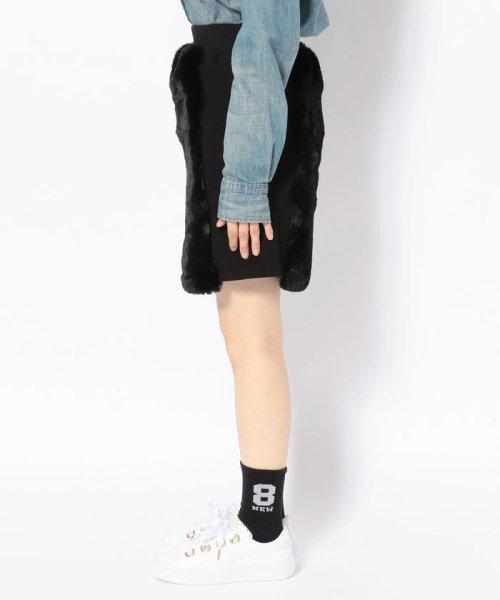 LHP(エルエイチピー)/chica/チカ/ファー切り替えスカート/6016183027-60_img01