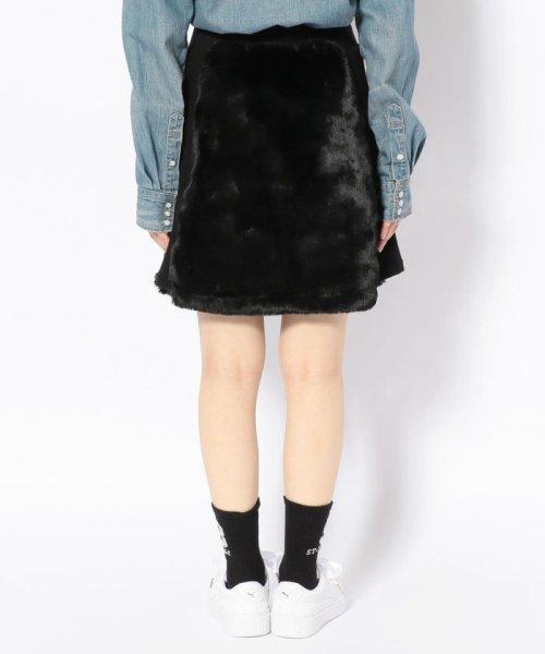 LHP(エルエイチピー)/chica/チカ/ファー切り替えスカート/6016183027-60_img02