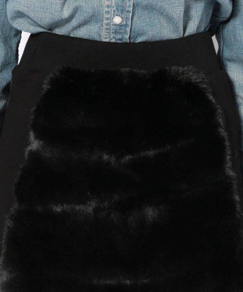 LHP(エルエイチピー)/chica/チカ/ファー切り替えスカート/6016183027-60_img03