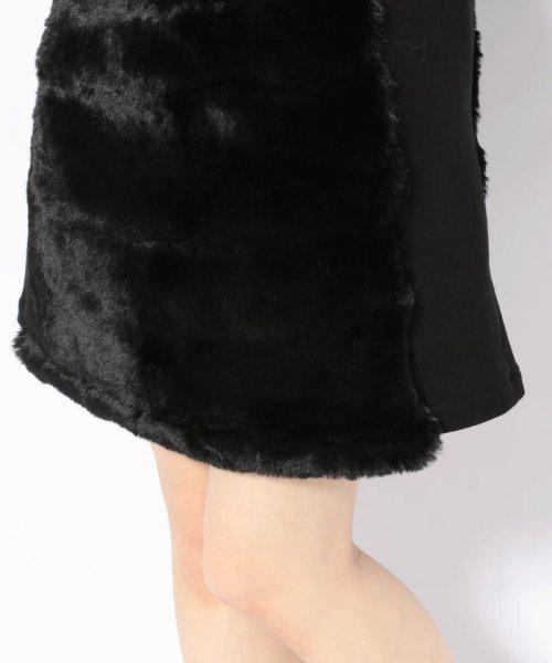 LHP(エルエイチピー)/chica/チカ/ファー切り替えスカート/6016183027-60_img04