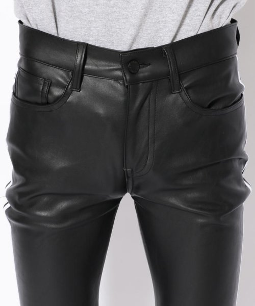 LHP(エルエイチピー)/DankeSchon/ダンケシェーン/Neo Leather LINE Pants/6016199045-60_img03
