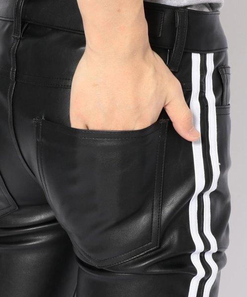 LHP(エルエイチピー)/DankeSchon/ダンケシェーン/Neo Leather LINE Pants/6016199045-60_img05