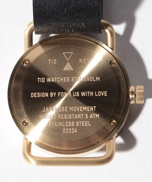 TID Watches(ティッドウォッチ)/【TID Watches】  No.1/TID01GDBK_img03