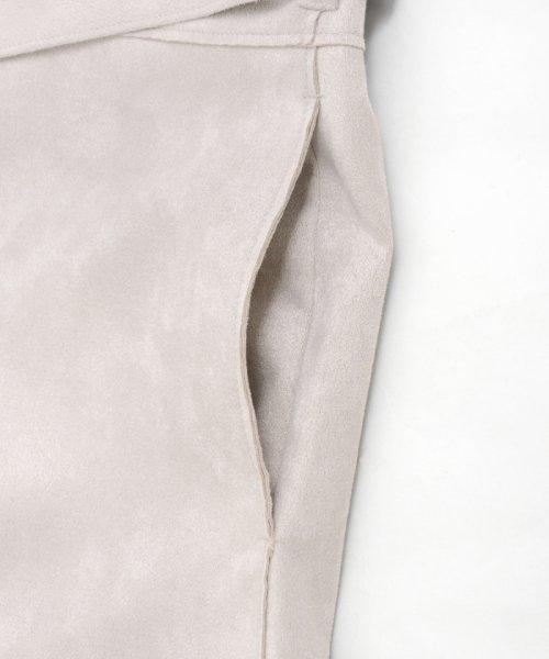 le.coeur blanc(ルクールブラン)/エコスエードノーカラーコート/3095079200_img06