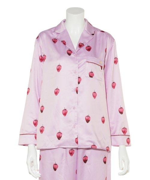 gelato pique(gelato pique)/ストロベリーチョコサテンシャツ/PWFT191257_img02