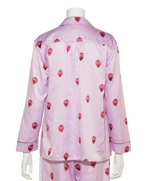 gelato pique(gelato pique)/ストロベリーチョコサテンシャツ/PWFT191257_img03