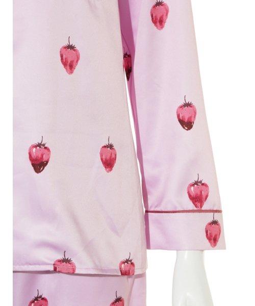 gelato pique(gelato pique)/ストロベリーチョコサテンシャツ/PWFT191257_img06