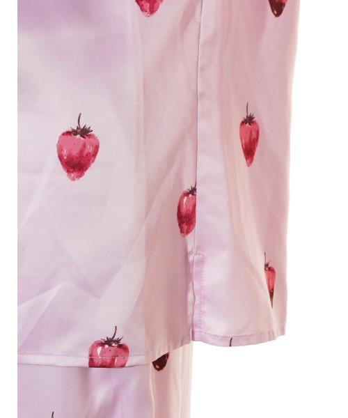 gelato pique(gelato pique)/ストロベリーチョコサテンシャツ/PWFT191257_img07