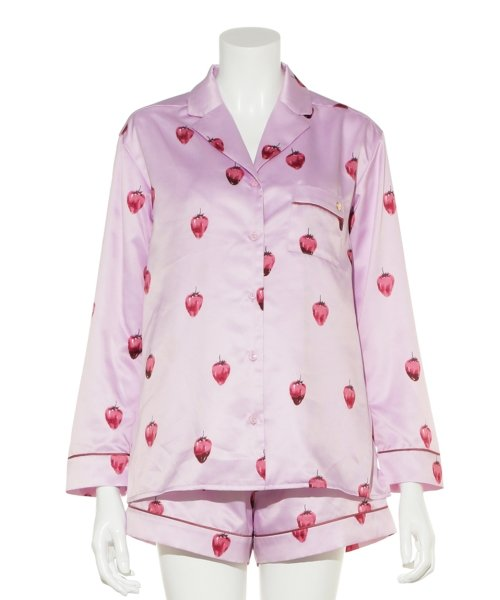 gelato pique(gelato pique)/ストロベリーチョコサテンシャツ/PWFT191257_img11