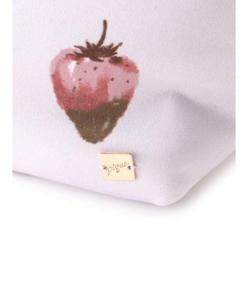 gelato pique(gelato pique)/ストロベリーチョコサテンポーチ/PWGB191655_img04