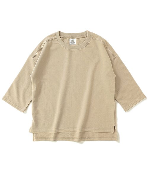devirock(デビロック)/スリット入りミニ裏毛7分袖Tシャツ/DT0005_img23