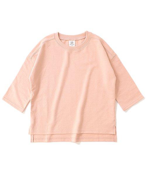 devirock(デビロック)/スリット入りミニ裏毛7分袖Tシャツ/DT0005_img27